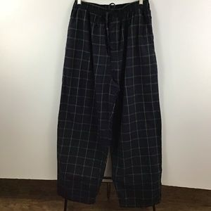 Nautica Sleepwear Plaid Pajama Pants